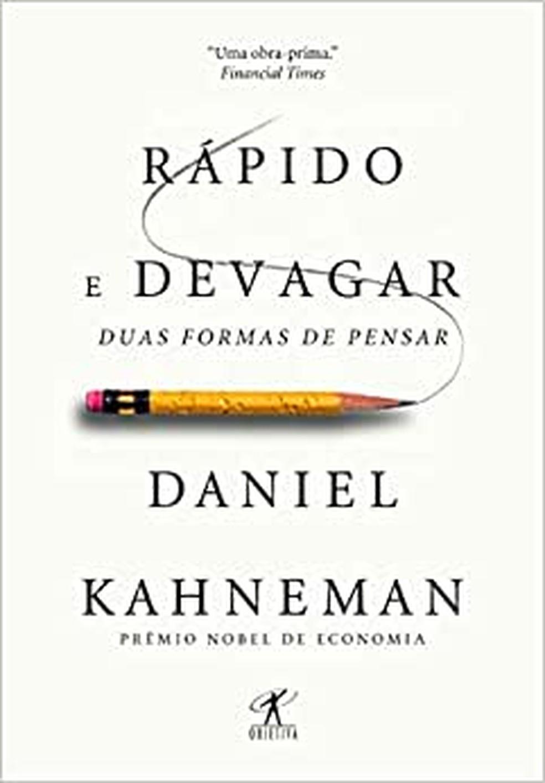 "Livro ""Rápido e devagar: duas formas de pensar"" — Foto: Amazon"
