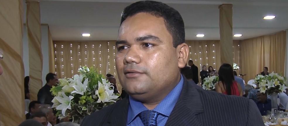 Antônio Cesarino é suspeito de desviar dinheiro dos cofres públicos de Bom Jardim (MA) — Foto: Reprodução/TV Mirante