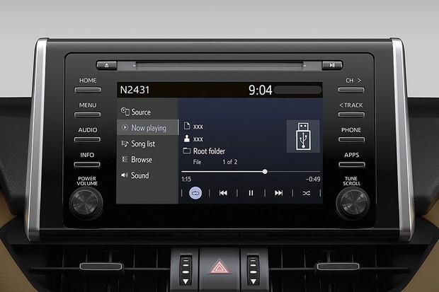 Toyota RAV4 (Foto: Divulgação)
