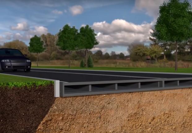 Empresas fabricantes de estradas estão querendo produzir pavimentos com plástico reciclado (Foto: Divulgação)