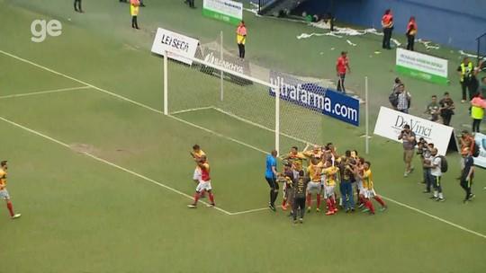 Veja os gols e os pênaltis de Manaus 2 (5 x 6) 2 Brusque-SC