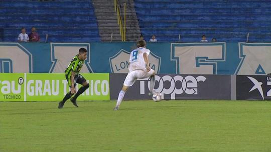 Melhores momentos de Londrina 0 x 1 América-MG, pela Série B do Campeonato Brasileiro
