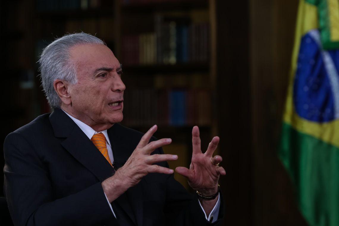 Temer diz que 'tranquilizou' líderes do Brics sobre Bolsonaro - Noticias