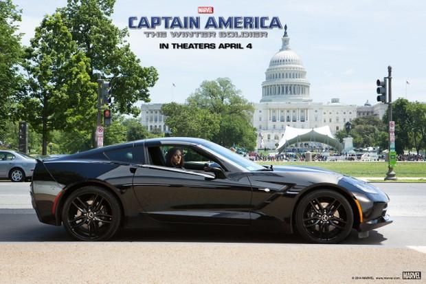 Corvette Stingray da SHIELD (Foto: Divulgação)
