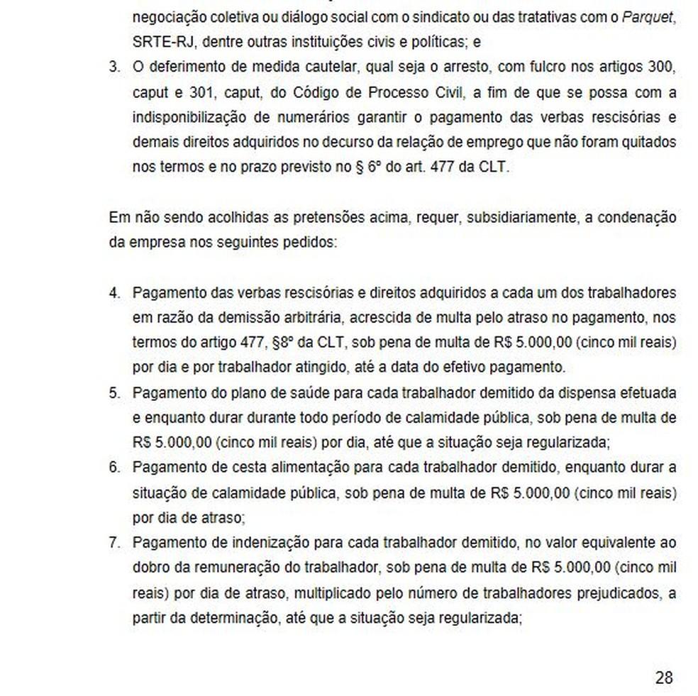 MPT lembra que não houve negociação prévia com o sindicato de clubes — Foto: Reprodução
