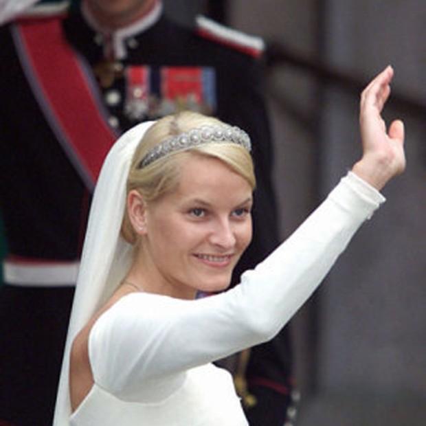 Princesa Matte-Marit em seu casamento  (Foto: Divulgação)
