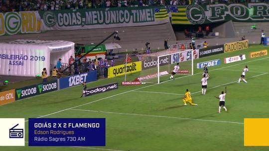 Redação AM: veja a narração de Edson Rodrigues, da Rádio Sagres 730, para o gol de Michael contra o Flamengo