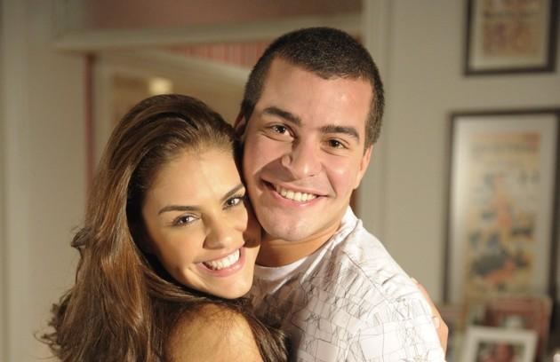 Com Thiago Martins onde tudo começou: na novela 'Insensato coração'/ Foto: TV Globo (Foto: Foto: TV Globo)