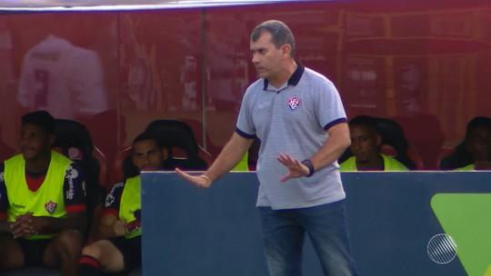 Futebol: técnico do Vitória é demitido após derrota para o São Bento no Barradão