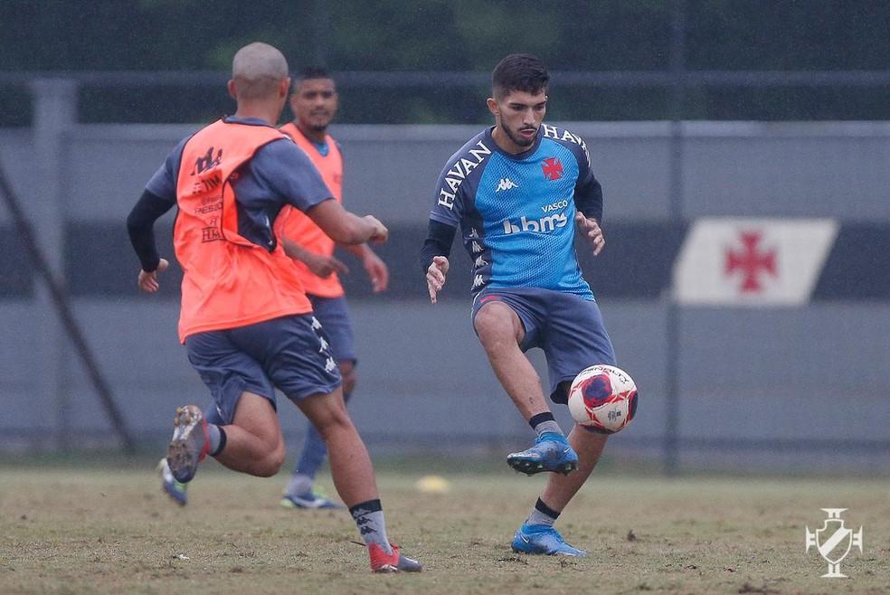 Andrey considera confrontos contra o Botafogo bons testes ao Vasco — Foto: Rafael Ribeiro/Vasco