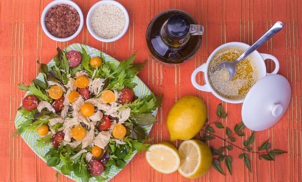 Receita de salada antioxidante com Golden Berry (Foto: Eric Souza)