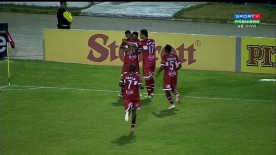 Contra o Goiás: após sete rodadas, CRB volta a marcar dois gols numa partida