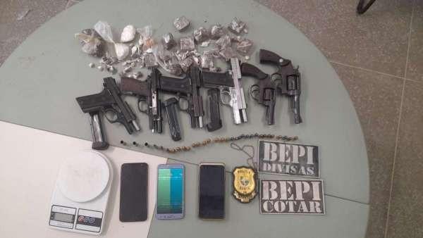 Polícia captura 5 suspeitos e apreende armas após confronto com criminosos no Ceará