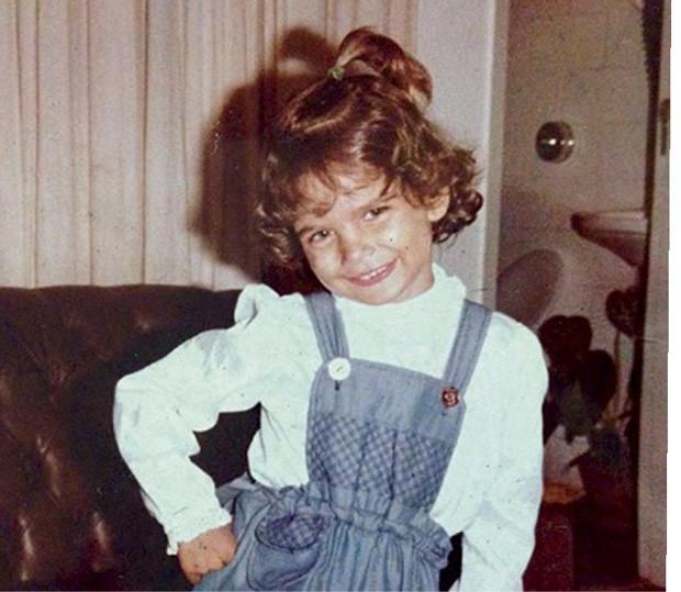 Essa é Fernanda, aos 4 anos… (Foto: Arquivo pessoal)
