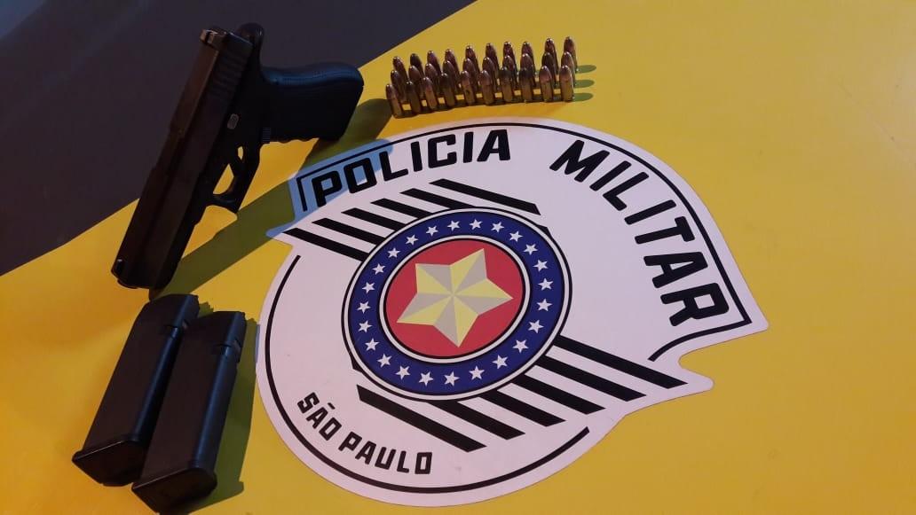 Adolescente é flagrado com pistola e munições durante abordagem da Polícia Rodoviária - Notícias - Plantão Diário