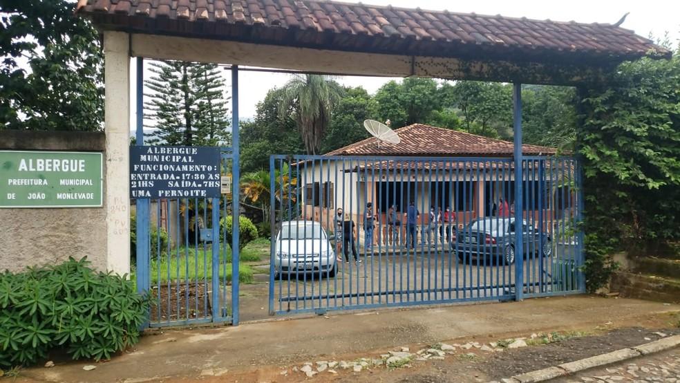 Albergue Municipal de João Monlevade — Foto: Vladimir Vilaça/TV Globo