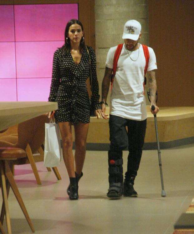 Bruna Marquezine e Neymar (Foto: J Humberto/AgNews)