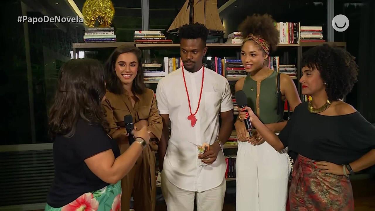 Papo de Novela - Bruna Inocêncio, Giovanna Coimbra e David Jr falam sobre 'Bom Sucesso'