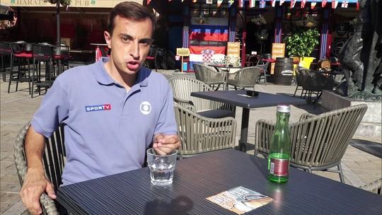 Zona Mista investiga piada com a camisa da Croácia