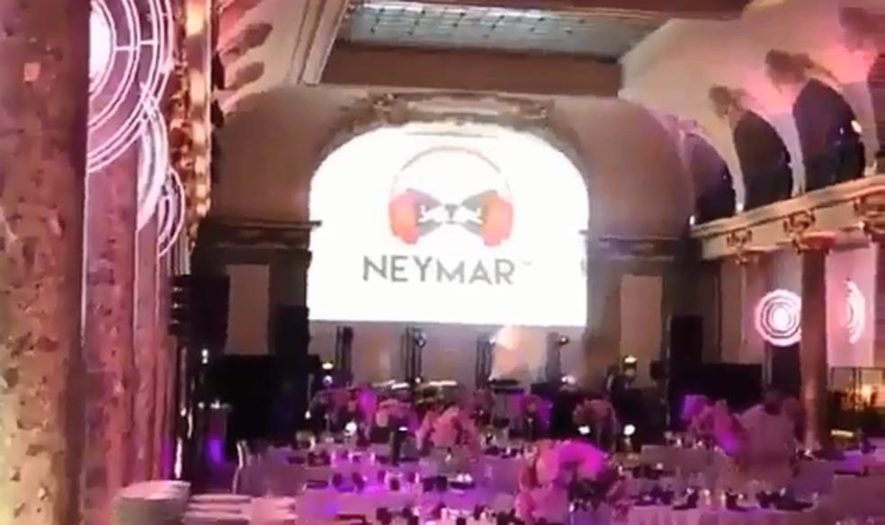 Salão alugado para festa de 26 anos de Neymar (Foto: Reprodução / Instagram)