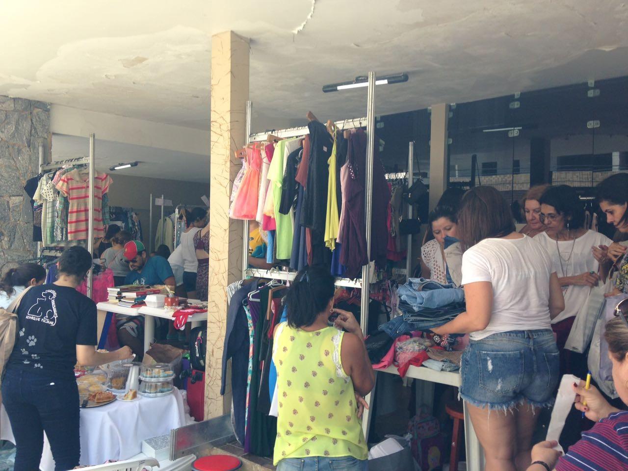 Fundo social realiza bazar solidário em Pederneiras   - Noticias