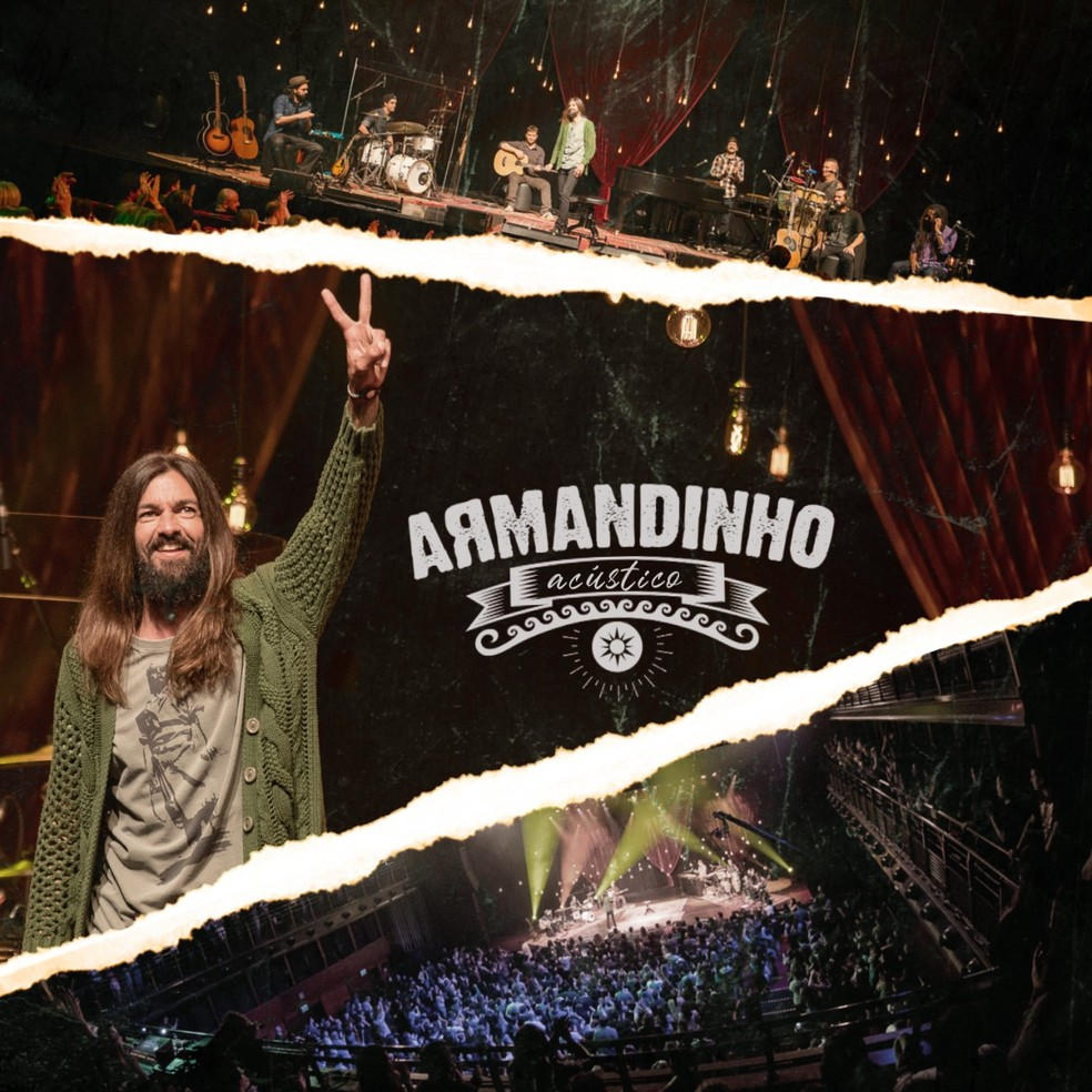 Capa do álbum 'Armandinho acústico' — Foto: Edu Defferrari