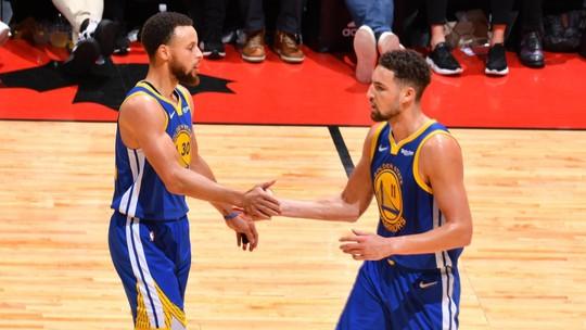 Melhores momentos: Golden State Warriors 106 x 105 Toronto Raptors pela final da NBA