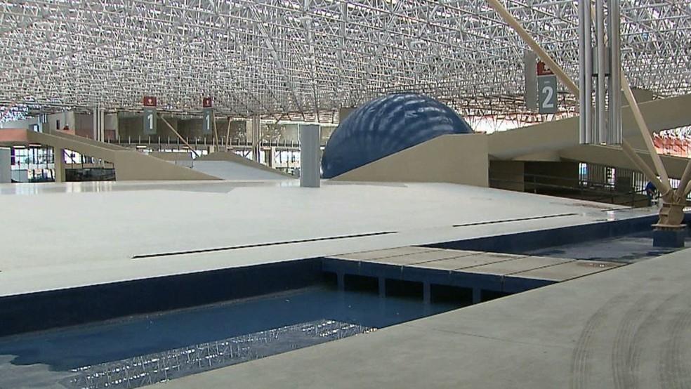 Espaço Cultural José Lins do Rego, em João Pessoa, na Paraíba — Foto: TV Cabo Branco/Reprodução