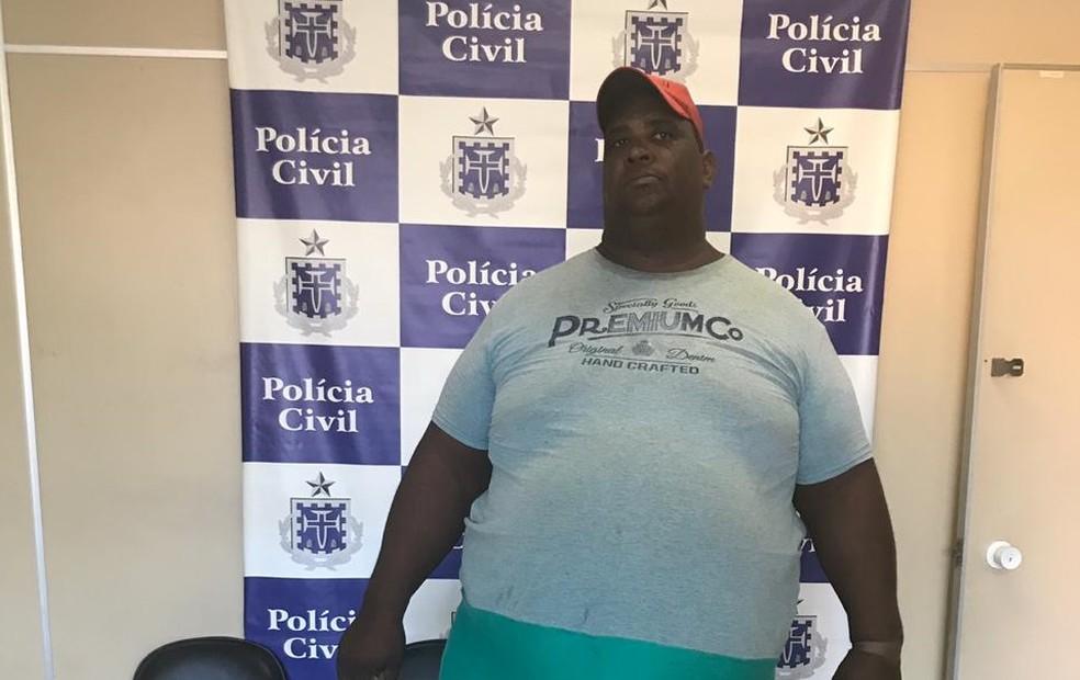 Suspeito de manter esposa em cárcere de privado por 10 anos na Bahia foi preso — Foto: Divulgação/SSP-BA
