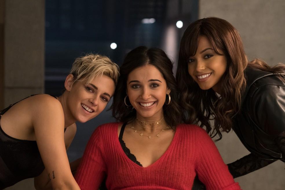 """Kristen Stewart, Naomi Scott e Ella Balinska são """"As Panteras"""" versão 2019 — Foto: Divulgação"""