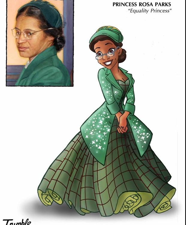 Rosa Sparks, princesa da igualdade (Foto: Trumble/ Reprodução)