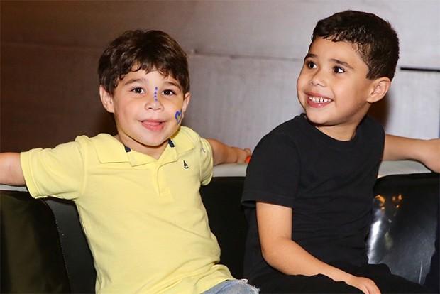 Os irmãos, João Francisco e José Marcus (Foto: Manuela Scarpa/Brazil News)