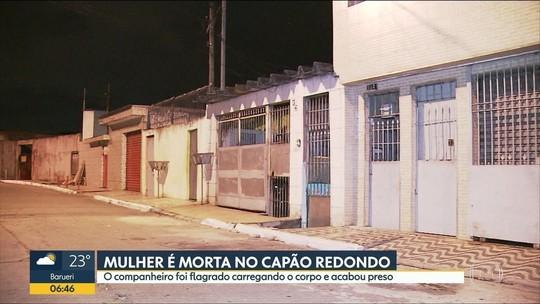 Mulher é morta pelo companheiro na Zona Sul de SP