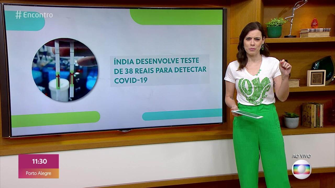 Bem Estar: Índia desenvolve teste de 38 reais para detectar Covid-19