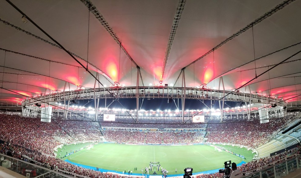 Casa cheia: público no Maracanã foi o maior do Brasil em 2019 — Foto: Reprodução/Twitter
