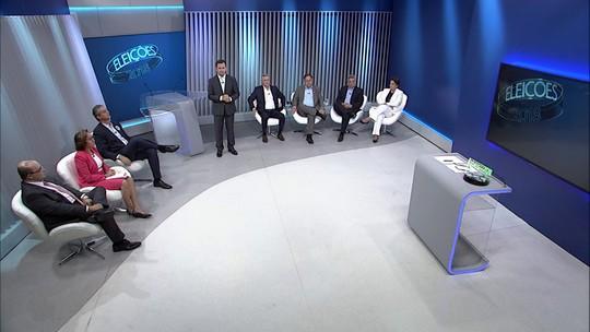 Debate dos candidatos ao governo do DF - Bloco 1