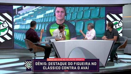 Denis recorda período com Rogério Ceni no São Paulo e fala da temporada do Figueirense