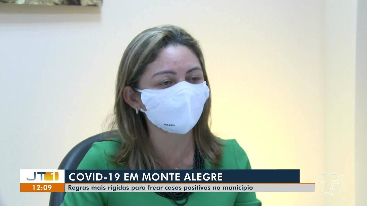 Monte Alegre adota medidas mais restritivas para o avanço da pandemia no município