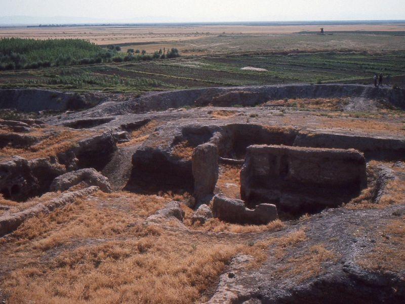 O início das escavações na Turquia (Foto: Wikicommons)