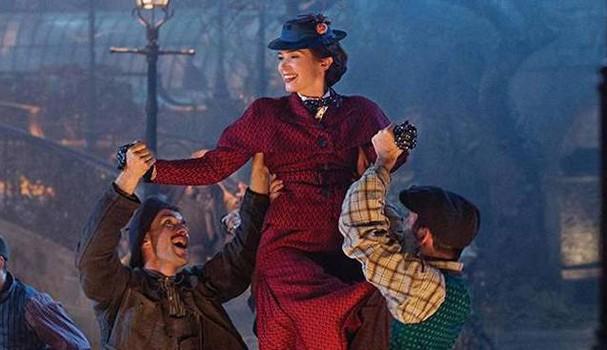 Cena do filme O retorno de Mary Poppins (Foto: Reprodução/Youtube)