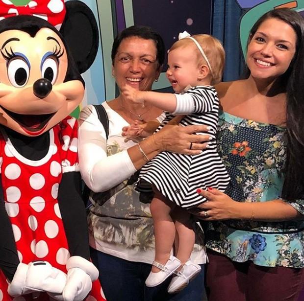 Glória Cristina, Melinda e Thais Fersoza (Foto: Reprodução/Instagram)