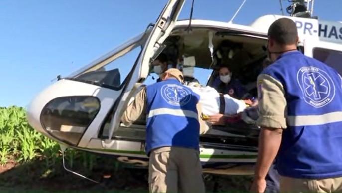 Agricultor é atacado por touro em sítio enquanto tratava animais, em Londrina