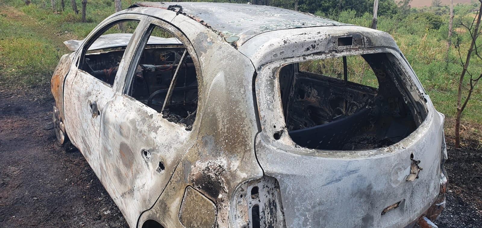 Em tentativa de roubo, motorista de aplicativo é incendiado por passageiro