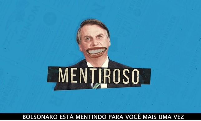 Vídeo rebate Bolsonaro sobre peso do ICMS no preço dos combustíveis