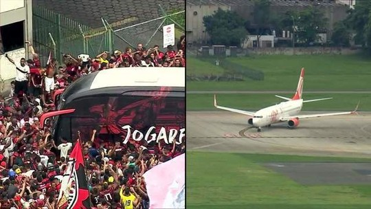 Flamengo embarca para final da Libertadores
