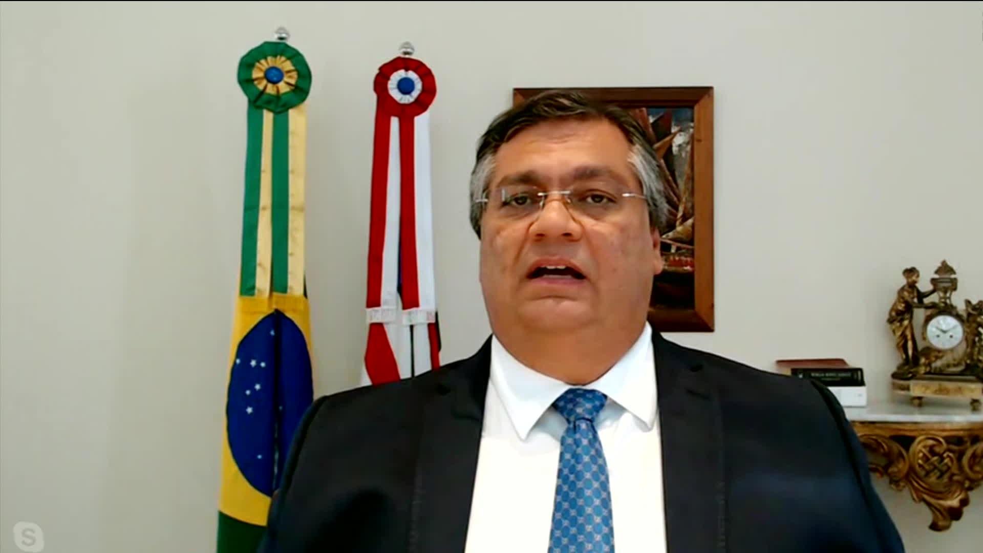 Governador Flávio Dino anuncia desfiliação do PCdoB, após 15 anos no partido