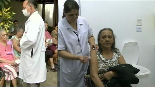 Primeiro dia de campanha de vacinação contra a gripe teve 80 mil imunizações em Fortaleza