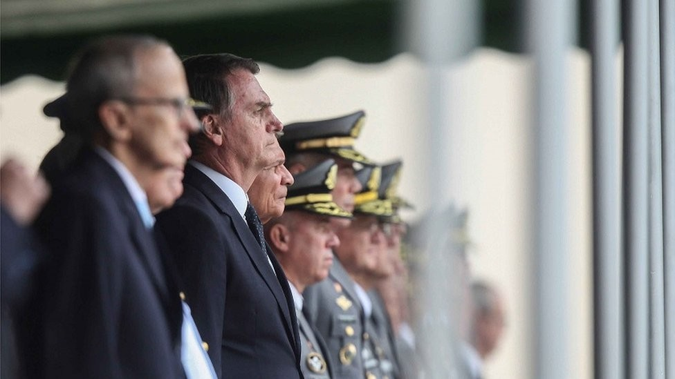 Sete dos 22 ministros de Bolsonaro são militares, a maior participação das Forças Armadas em um governo desde a redemocratização (Foto: EQUIPE DE TRANSIÇÃO/RAFAEL CARVALHO)