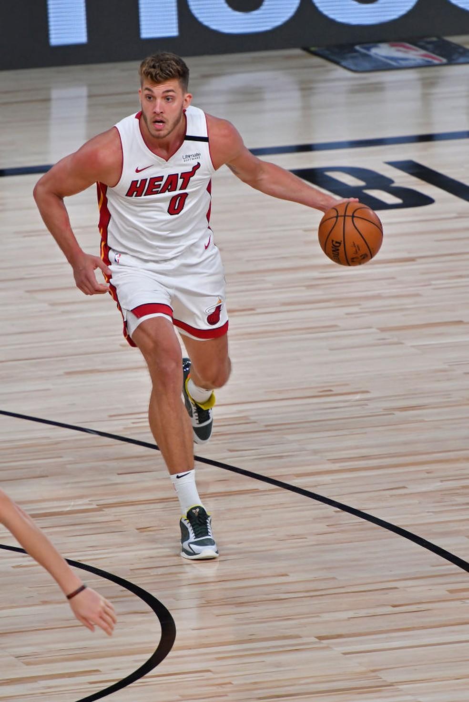 Meyers Leonard Miami Heat NBA — Foto: Getty Image