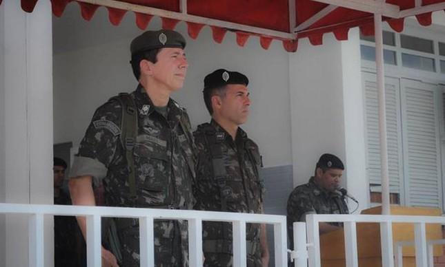 """General Ridauto Fernandes, hoje na reserva: """"providenciarei para que aquele que esteja agredindo seja neutralizado"""""""